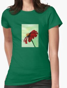 A Red Flower in Sharona's Dreams T-Shirt