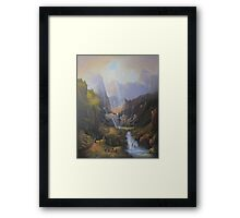 The Valley Of The Elves. Framed Print