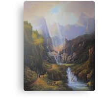 The Valley Of The Elves. Canvas Print