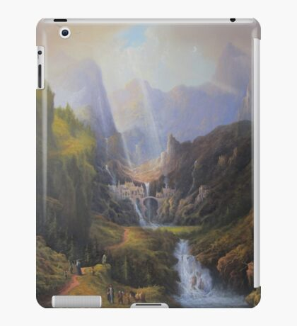The Valley Of The Elves. iPad Case/Skin