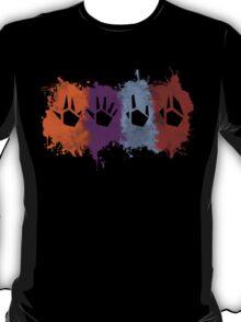 Prime Beams Splatter (Transparent Symbols) T-Shirt
