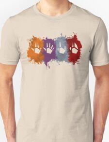Prime Beams Splatter (Transparent Symbols) Unisex T-Shirt