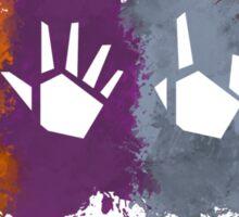 Prime Beams Splatter (Transparent Symbols) Sticker