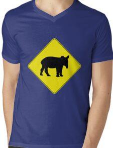 Tapir  Mens V-Neck T-Shirt