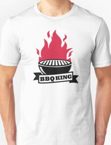 BBQ King red flame T-Shirt