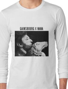 Gainsbourg & Nana Long Sleeve T-Shirt