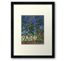 Vincent Van Gogh -  Grounds Of  Asylum, 1889 Framed Print