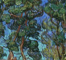 Vincent Van Gogh -  Grounds Of  Asylum, 1889 Sticker