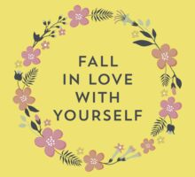 Fall In Love With Yourself (Pink) Kids Clothes