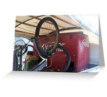 Bike Cola  Greeting Card
