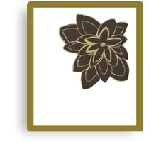 Styled Flower Canvas Print