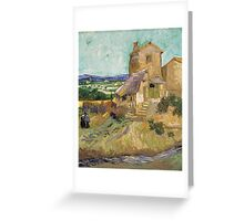 Vincent Van Gogh -  Old Mill, 1888 Greeting Card