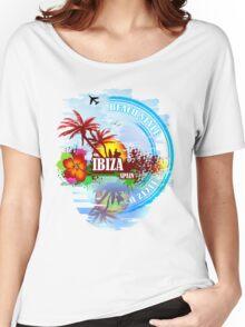 Sunset Beach Ibiza Women's Relaxed Fit T-Shirt