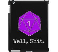 Critical Fail Roll - Custom Basic iPad Case/Skin