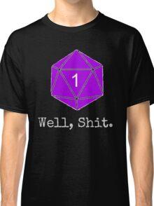 Critical Fail Roll - Custom Basic Classic T-Shirt
