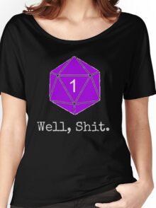 Critical Fail Roll - Custom Basic Women's Relaxed Fit T-Shirt