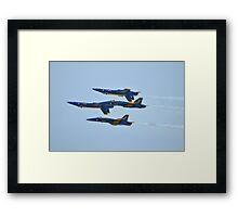 U.S. Navy Blue Angels Framed Print