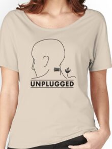 Unplugged Women's Relaxed Fit T-Shirt