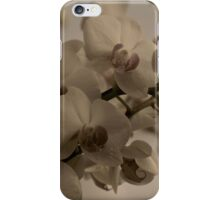 vintage orchids iPhone Case/Skin