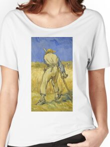 Vincent Van Gogh -  Reaper 1890 Women's Relaxed Fit T-Shirt