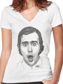 Andy Kaufman Women's Fitted V-Neck T-Shirt