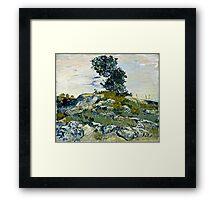 Vincent Van Gogh -  Rocks, 1888  Framed Print