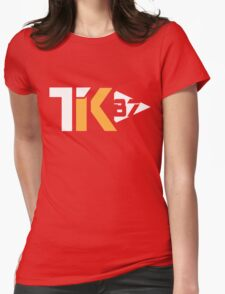Touchdown King 87 Red Womens Fitted T-Shirt