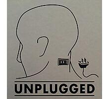 Unplugged Photographic Print