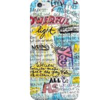 "Marianne Williamson Quote - ""Our deepest fear is not that we are inadequate"" iPhone Case/Skin"