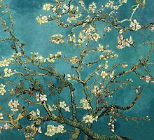 Blossoming Almond Tree by fineartgallery