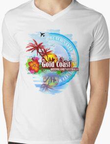 Gold Coast Queensland, Australia Mens V-Neck T-Shirt