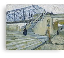 Vincent Van Gogh -  Trinquetaille Bridge, 1888 Canvas Print