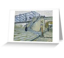 Vincent Van Gogh -  Trinquetaille Bridge, 1888 Greeting Card