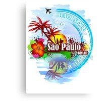 Sao Paulo Brazil Canvas Print