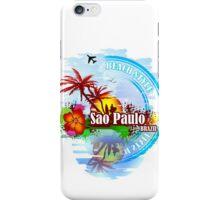 Sao Paulo Brazil iPhone Case/Skin