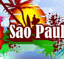 Sao Paulo Brazil Sticker