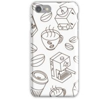 All Things Coffee iPhone Case/Skin