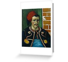 Vincent Van Gogh -  Zouave, June 1888 - 1888  Greeting Card