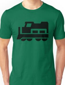 Heavy Diesel Train Locomotive Icon Unisex T-Shirt