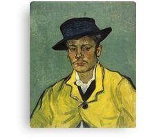 Vincent Van Gogh - Armand Roulin 1888 Canvas Print
