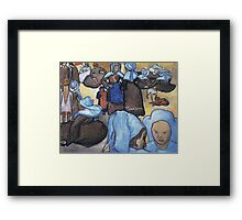 Vincent Van Gogh - Breton Women (After Emile Bernard), 1888 Framed Print
