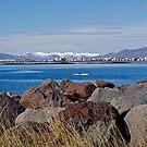 Reykjavík Iceland seen from Alftanes ! by siggabach