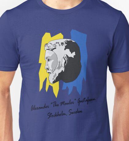 """Alexander """"The Mauler"""" Gustafsson Unisex T-Shirt"""