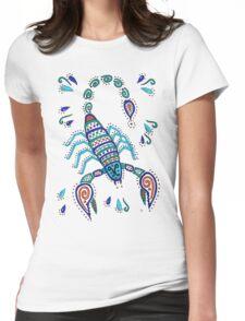 Scorpio Scorpion Womens Fitted T-Shirt