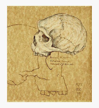 Archaic Homo sapiens Photographic Print