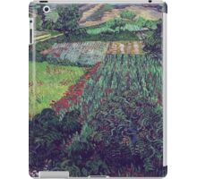 Vincent Van Gogh - Field With Poppies, 1889 iPad Case/Skin