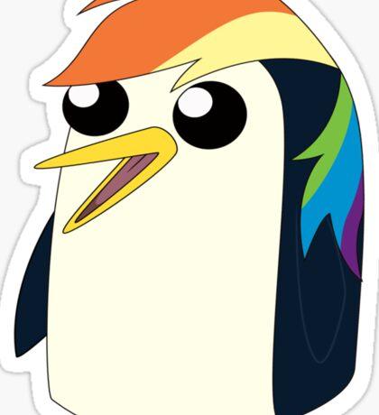 Rainbow Gunter  Sticker