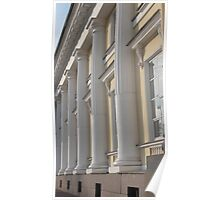 Palace facade with columns Poster