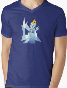 Ice Princess Mens V-Neck T-Shirt