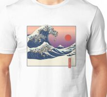 The Great Wave of Pug Unisex T-Shirt